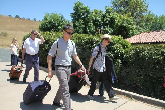 Students arrive for the 2018 High School Summer Program