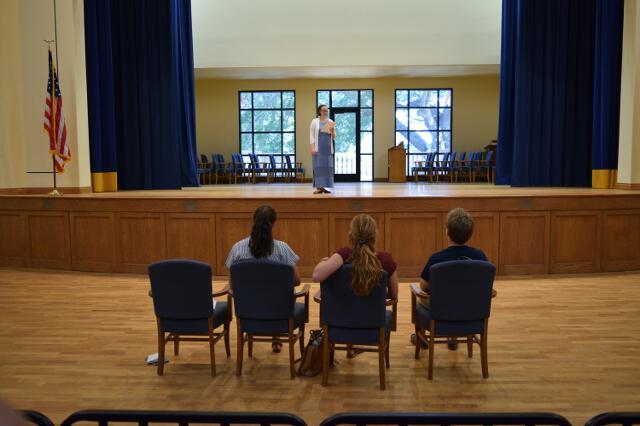 Directors watch audition
