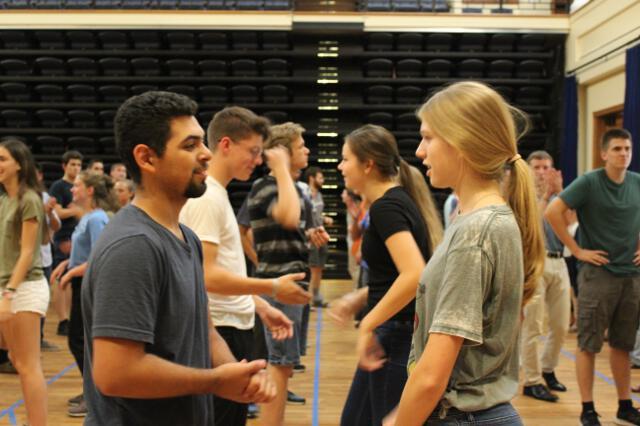 Second dance class