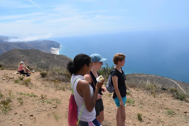 Hiking the Chumash Trail