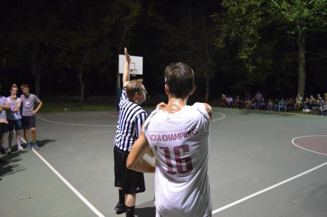 Men's basketball game