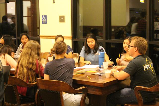 HSSP19 -- 1st Tuesday -- Coffee Shop