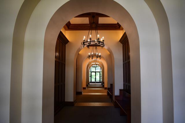 Hallway in classroom building