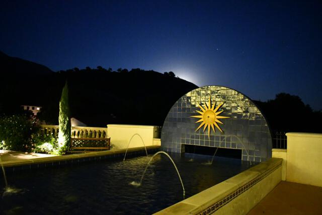 St. Gladys Plaza fountain
