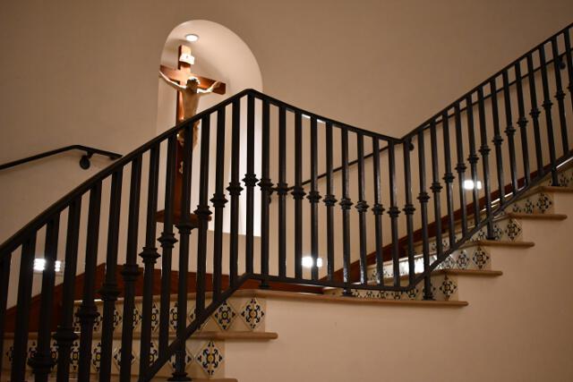 Stairway in St. Albert Hall