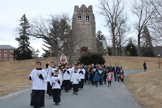 New England Rosary Procession March 2020