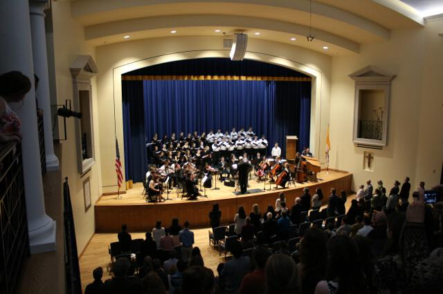 The Thomas Aquinas College Choir's performance of Handel's Messiah