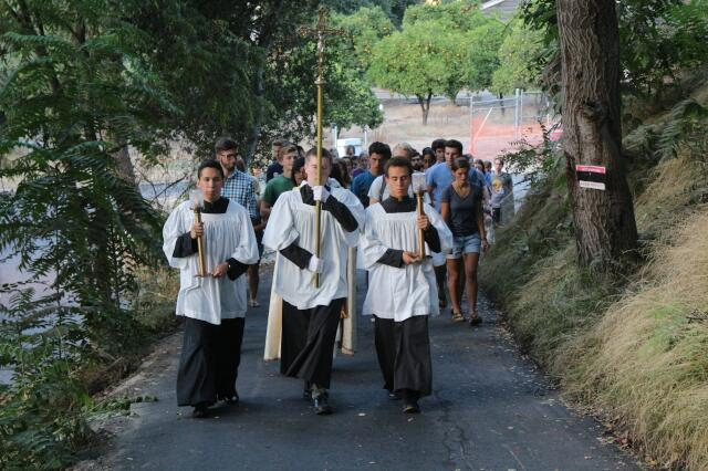 California Rosary Procession for the Nativity of Mary 2019