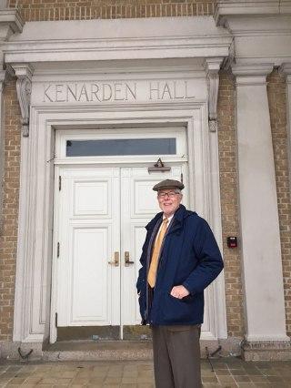 Dr. McLean at Kenarden Hall