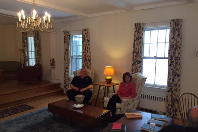 Julia andSteve Wiggin, property manager for the Northfield property