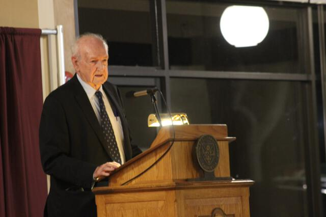 College Honors Founder Dr. John W. Neumayr