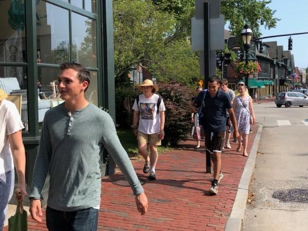 New England Staff Visit Newport RI 2019