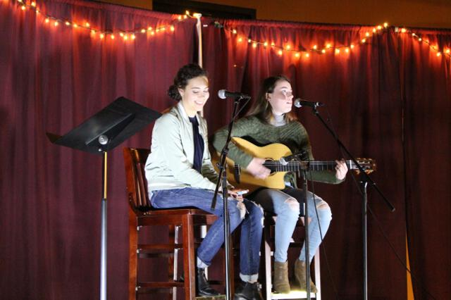 Open-Mic Night, Spring 2018