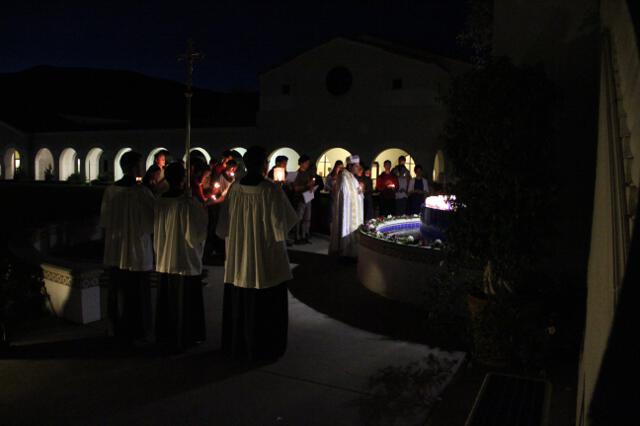 Procession for the Feast of the Presentation 2018