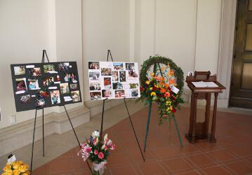 Rosie Grimm Funeral -- 02