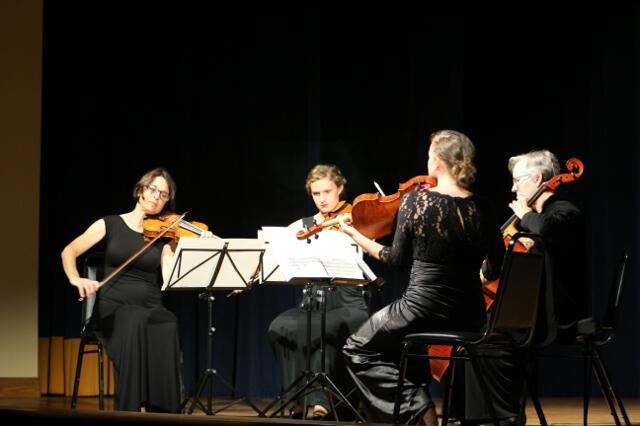 Santa Barbara String Quartet performance, 2018