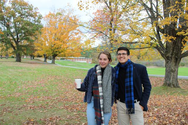 Scarves and Cider Party -- New England 2019