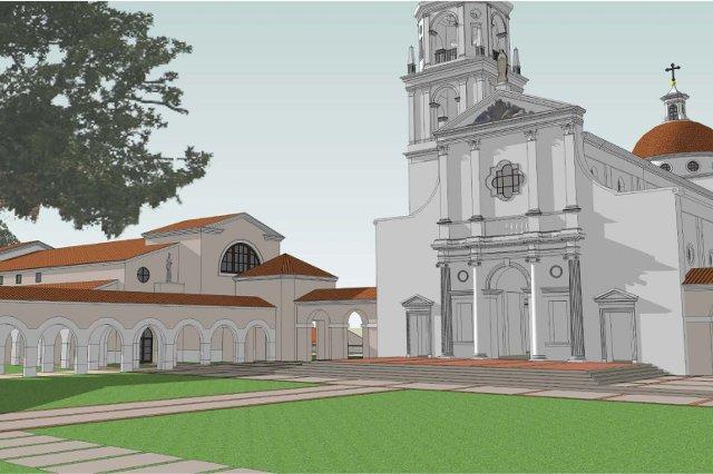 St. Cecilia Hall Drawings -- 01