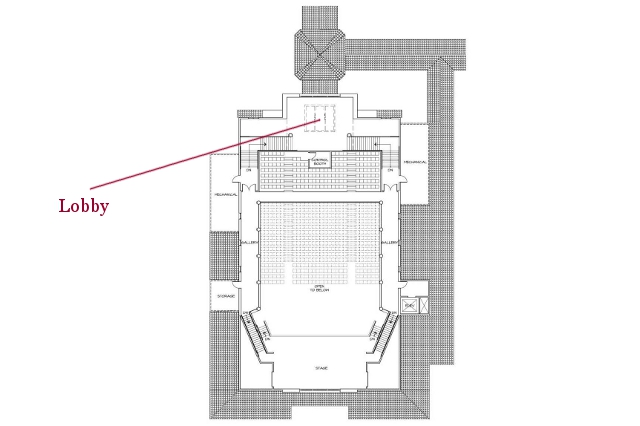 St. Cecilia Hall Drawings -- 13