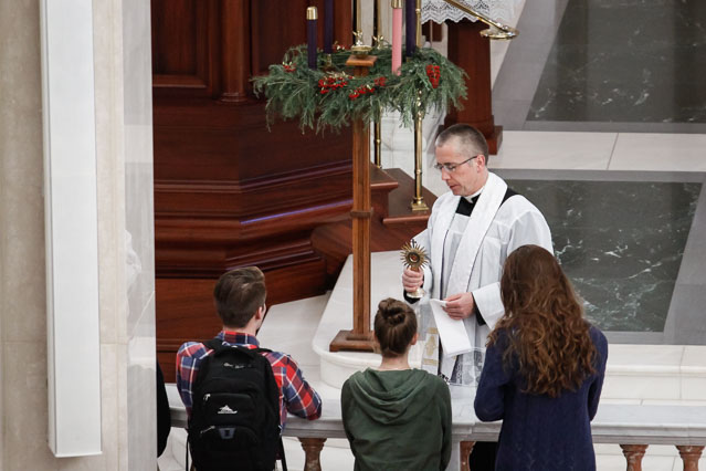 St. Thomas Relic Blessing Fall 2018