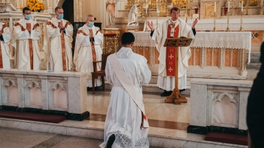 Fr. Maxwell is ordained