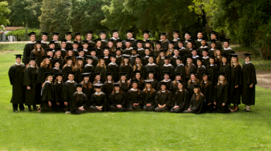 The Class of 2013 at graduation