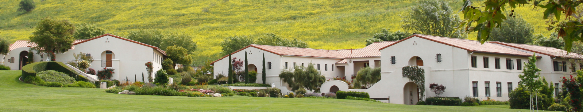 Residence halls on the California campus